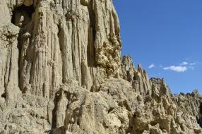 Amazing rock formations at Valle de la Luna