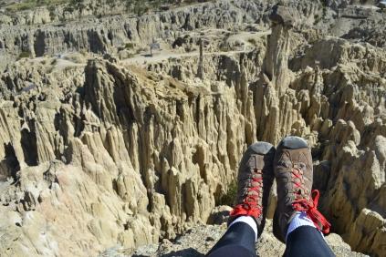 Valle de la Luna featuring my fabulous red shoe laces