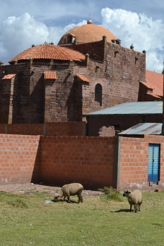 Tiwanaku church