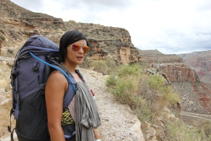 On the way down from Hualapai Hilltop