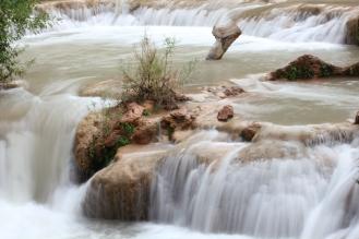 Water falls on waterfalls on waterfalls