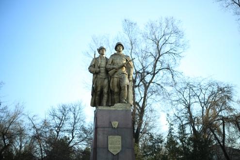 Soviet monuments everywhere