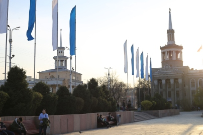 The government square