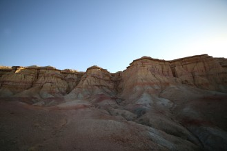 Prancing around the valleys of White Stupa