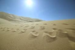 Singing sand dunes of Khongor Els