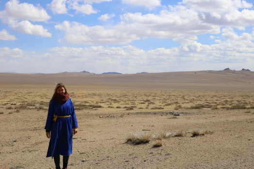 Me in the desert!